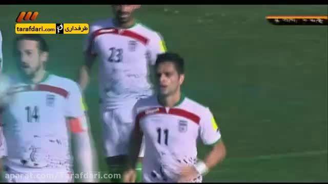 گل کمال الدین کامیابی نیا به گوام (گوام 0 - 2 ایران)