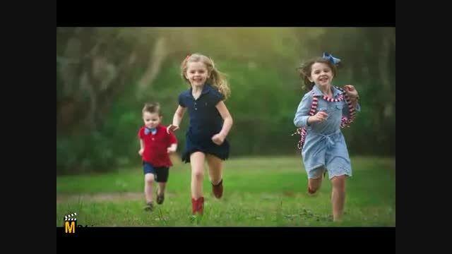 ترانه ی کودکانه ی دویدم و دویدم