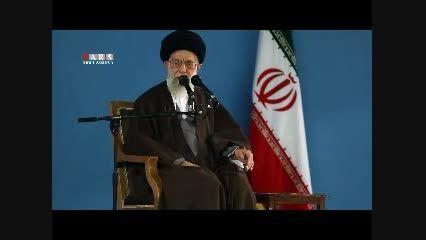 اتهام دخالت ایران در دیگر کشورها و پاسخ امام خامنه ای
