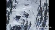 سعود به بالای کوه سقوط اسکی گازی بدون او