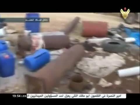 تصرف کارگاه ساخت خودروهای بمب گذاری شده توسط حزب الله