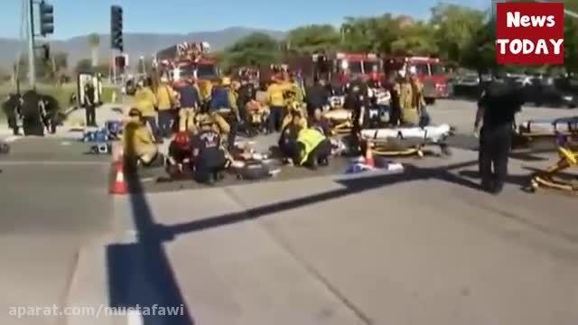 تیراندازی مرگبار در کالیفرنیای آمریکا شهر سن برنادینو 8