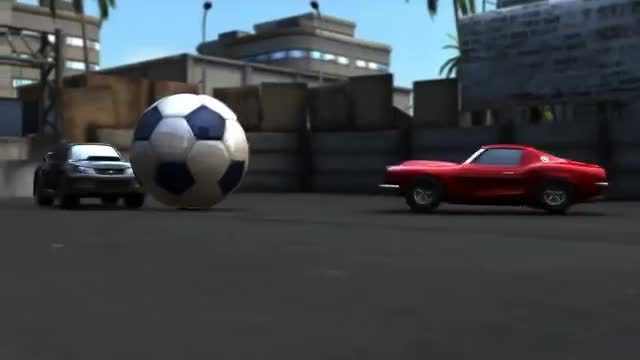 Soccer rally 2. Gameplay trailer