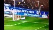 فیلم تبلیغ یک شرکت ایرانی در بازی دیشب رئال مادرید