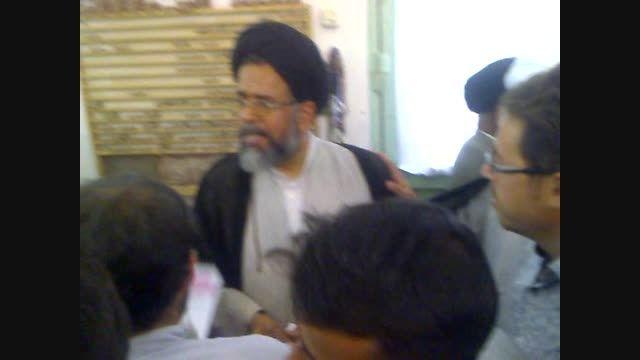 حضور وزیر اطلاعات در ستاد مردمی