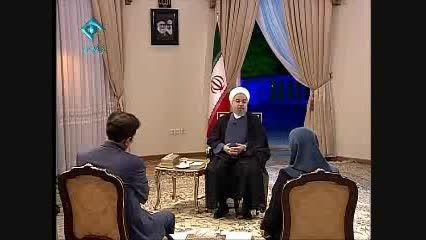 گفتگوی دکتر حسن روحانی با مردم ....