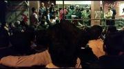 تجمع حزب الله در بوشهر.جلوی سینما و حمله پلیس به آنها