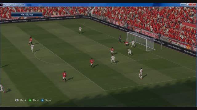 هفته چهاردهم لیگ برتر گل های بازی من یو-آتلتیکو