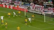 گل فوق العاده زیبای زلاتان ابراهیمویچ در بازی سوئد و انگلیس