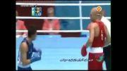 بازی های آسیایی؛ مشت زنی؛ پیروزی روزبهانی در اولین بازی