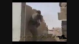 فرار داعشیها مثل گربه و رگبار گلوله..