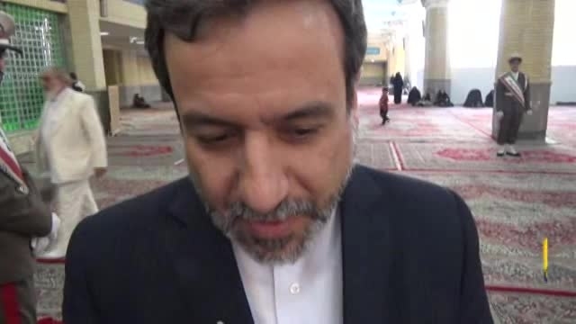 علت قدم زدن ظریف با کری از زبان عراقچی