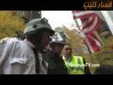 تو دهنی پلیس به زن معترض در امریکا