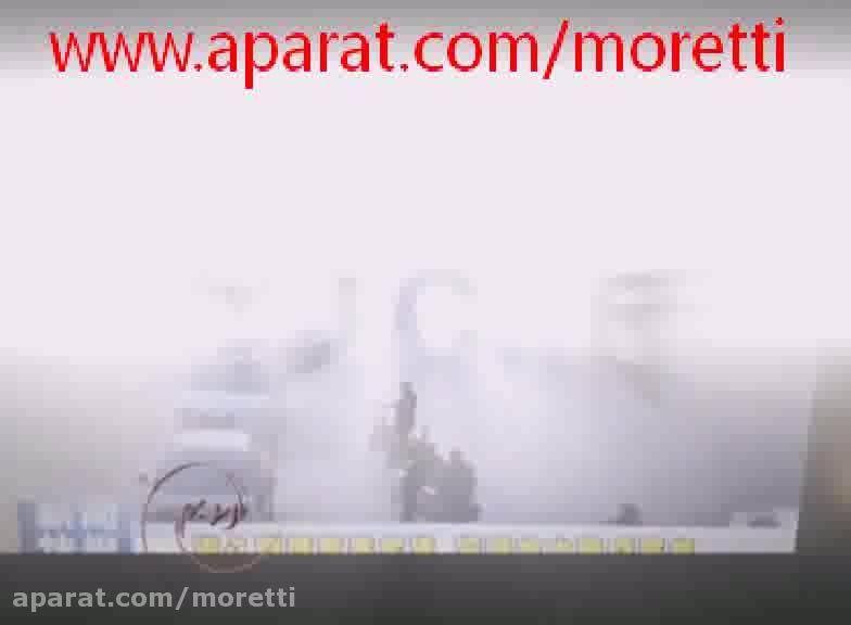 معلق شدن خودروها در هوا به علتی نامعلوم!