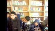 بازدید از کتابخانه توسط دانش آموزان دبستان پسرانه مفتاح دانش
