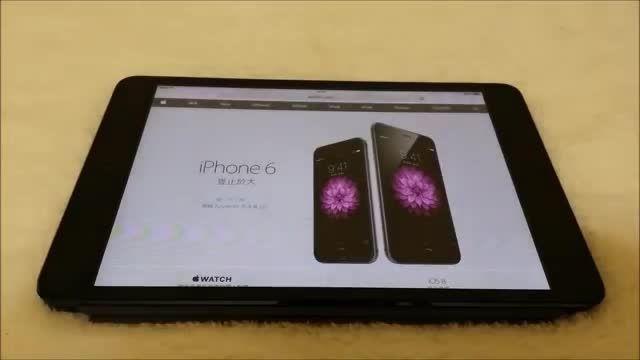 تست آیپد مینی با آی او اس - 8 Ipad Mini IOS 8 Test