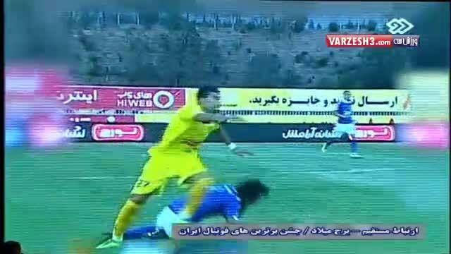 بازیکن کردستانی بهترین مدافع لیگ برتر شناخته شد