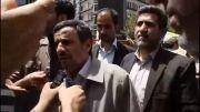 احمدی نژاد: هولوکاست واقعی امروز در فلسطین است