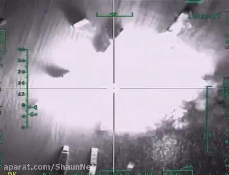 نیروی هوایی روسیه همچنان تانکر ها را نابود میکند