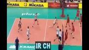 ایران 3-2 امریکا - والیبال قهرمانی جهان 2014