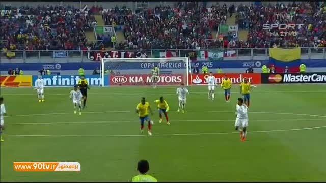 خلاصه بازی: مکزیک ۱-۲ اکوادور (حذف مکزیک)
