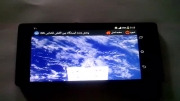 پخش زنده نمایی از کره زمین از فضا (1)