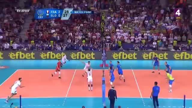 فرانسه قهرمان والیبال جام ملت های اروپا ۲۰۱۵