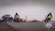 مسابقه دریفت بین موتور و ماشین (مبارزه سوم) - ۲۰۱۴