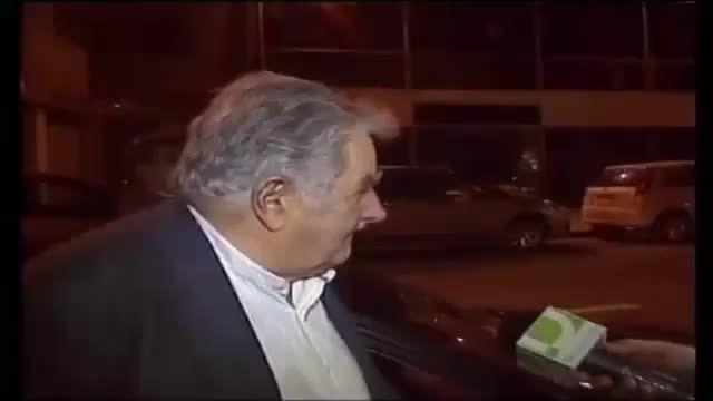 بخشندگی خوزه موخیکا رئیس جمهور ساده زیست اروگوئه !!