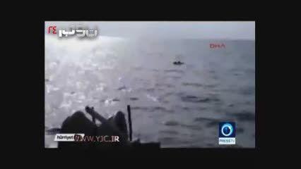 نجات یک نوزاد 18 ماهه سوری در آب های ترکیه