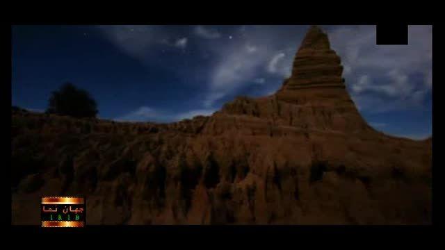 تایم لپس جذاب از شبهای کویری