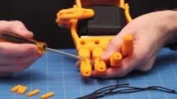 نصب تاندوم دست مصنوعی ساخته شده با پرینتر سه بعدی