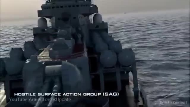 تعجب تند و زننده نظامی آمریکا برای نیروی دریایی روسیه