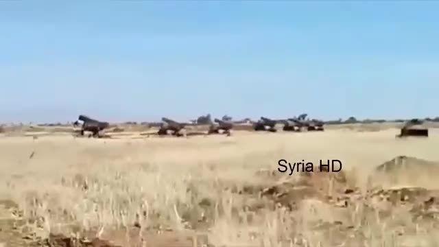 درعا - حملات موشکی ارتش سوریه به مواضع النصره