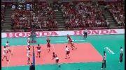 بازی دوم لهستان - ایران در شهر گدانسک