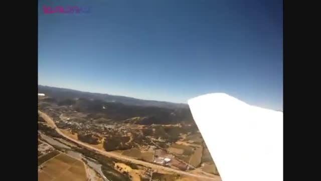 ویدئوی سقوط دوربین از هواپیما که حدود ده میلیون ...