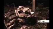 حادثه تلخ و دلخراش تصادف پراید و کامیون در جاده سنگر