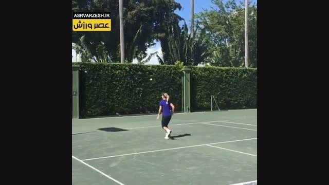 کارولین وزنیاکی تنیسوری حرفه ای از دانمارک