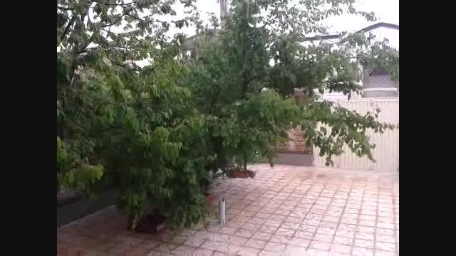بارش شدید تگرگ