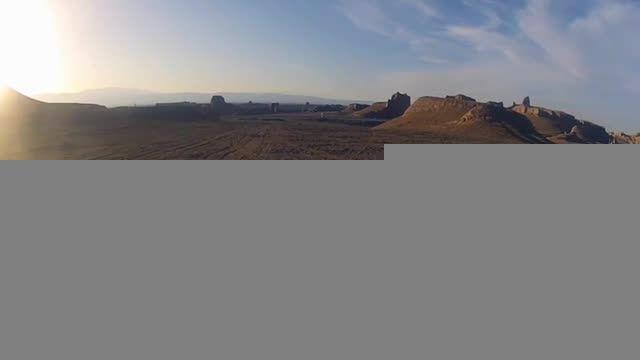 نخسیتن تصویربرداری هوایی در کرمان - کلوت های شهداد