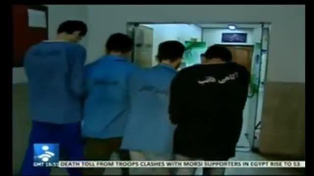 دستگیری باند جدید زورگیری با استفاده از دوربین