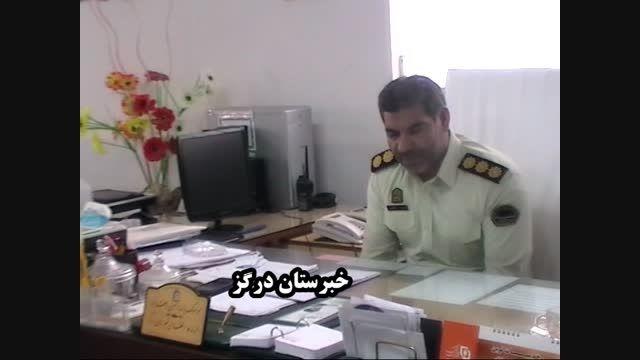 نشست صمیمی خبرنگاران با فرمانده نیروی انتظامی درگز