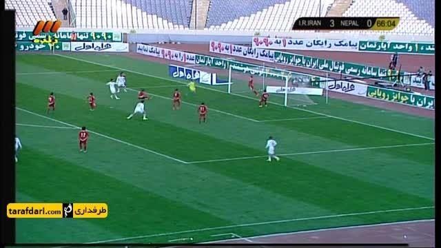 خلاصه بازی امید ایران 5-0 امید نپال