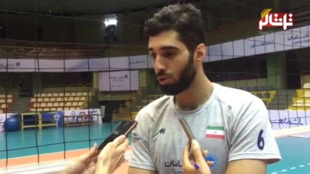مصاحبه با سید محمد موسوی درباره ی والیبال و کواچ