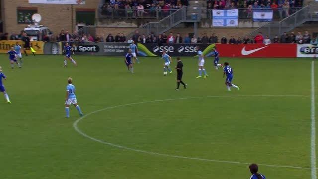 بازی : چلسی 1 - 2 منچسترسیتی (لیگ برتر زنان انگلیس)