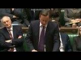 کامرون در پارلمان انگلیس هم، تحقیر شد