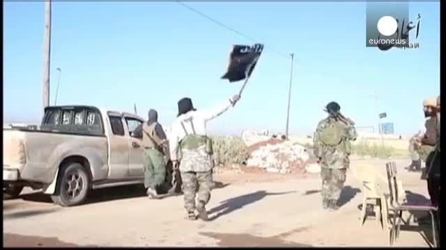 پیشروی داعش در سوریه به سمت مرزهای ترکیه