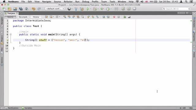 ۸- تبدیل Array به List و برعکس در جاوا Java