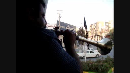 دهل زنی پیشواز محرم در کازرون