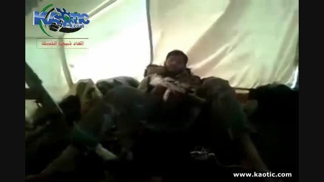 داعشی غرق در مواد توهم زا هم سنگرش را کشت